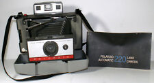 1960s Polaroid 220 Automatic Model Folding Bellows Instant Film Land Camera