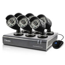 Swann SODVK-84406B-AU 8 CH DVR & 6 x PRO-A850 Cameras with GEN SWANN WARR