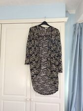 Urban Outfitters..pins And Needles Ivory&Black Blouse/Jacket Size Small NWT