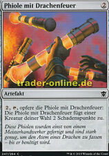 4x Phiole mit Drachenfeuer (Vial of Dragonfire) Dragons of Tarkir Magic