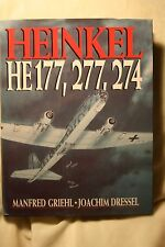 Heinkel He177, 277, 274 Dressel Griehl Book Like New Condition