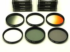 58mm CPL, Star, UV, ND4, Grey, Orange, Filters For Canon Nikon Tamron DSLR