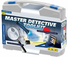 Thames & Kosmos MASTER DETECTIVE TOOLKIT Kids Science Kit 26 Experiments