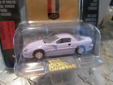 1996 chevy camaro white  Racing Champions mint edition issue 29  w/stand  1:59
