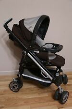 Peg Perego Pliko Switch Baby Single Seat Stroller in Java Brown
