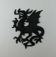 BLACK DRAGON EMBROIDERED SEW IRON ON PATCH BIKER MOTOCYCLE T-SHIRT FREE SHIP