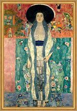Adele Bloch-Bauer II Zwei Jugendstil Portrait LW Gustav Klimt A2 012