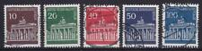 Berlin Mi Nr. 286 - 290, gest., Brandenburger Tor 1966, used
