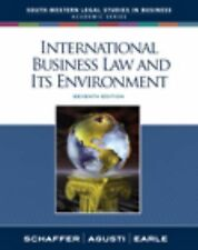 International Business Law and Its Environment (South-Western Legal Studies in