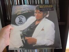 MICHAEL JACKSON VERY RARE SEALED LP THRILLER 1982 USA 1ST PRESS~W2/HYPE STICKERS