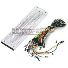 700 Point Solderless PCB Breadboard + 65pcs Jumper wires cables For Arduino