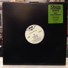 "NM 12""~QUEEN MOTHER RAGE~Key Testimony~{Main~Funk-E Mix~Dub~Bassmood~Instrum]~"