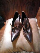 Hugo Boss Brown Leather Pumps Size 37 1/2 (7.5)