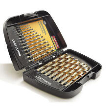 AIRCRAFT TOOL NEW CRAFTSMAN  21PC IMPERIAL COLBALT DRILL SET IDEAL FOR MECHANICS