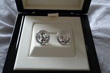 PATEK PHILIPPE Calatrava 18ct White Gold Cufflinks