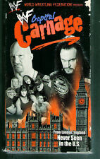 HH Very Rare WWF  VHS Tape Capitol Carnage  Degeneration X Undertaker Stone Cold