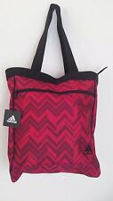 NWT ADIDAS STUDIO CLUB BAG Pink/Black Tote Shoulder Bag Women's Gym Bag