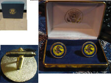 new pair department of justice  cufflinks no signature DOJ