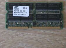 512mb Samsung 144pin pc133 SDRAM SO-DIM 16 chip di memoria