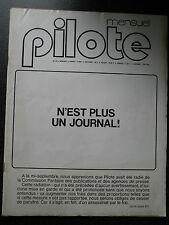 MAGAZINE PILOTE  N° 53   N'EST PLUS UN JOURNAL !