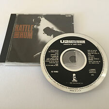 1988 U2 - Rattle and Hum CD A2 91003 - Island Records