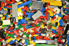 1000g large LEGO job lot various pieces parts 2 minifigs 1 kilo KG starter pack