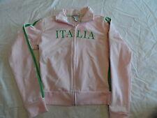 Italia pink jacket women size Large