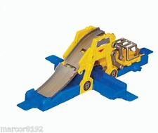 Hot Wheels Work Shop Track Builder Lift & Launch 2 Level Racing Action New