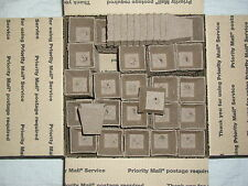 """300- 2 1/4"""" SQUARE JIFFY PEAT POTS  for SEED STARTING - GREENHOUSE SUPPLIES"""