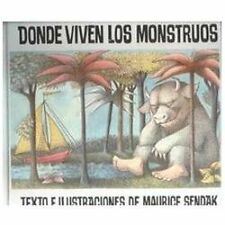 Donde Viven Los Monstruos  Where the Wild Things Are (Historias Para D-ExLibrary