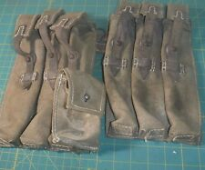 "GERMAN WW2 TROPICAL LBE, BELT, ""Y""STRAPS AND MP 38/40 POUCHES."