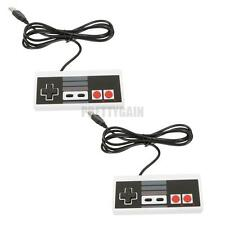 2X USB Classic Gaming Controller Gamepad For Nintendo NES Raspberry Windows PC