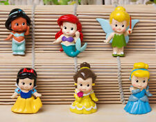 Lot 6pcs/set Baby princess figure snow white series toys 4-5cm