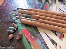 Wyld Rabbit's 3 Pack ~ Paper / Wire Wrap Oak Bead Roller Kit  1/8, 5/64, 1/16