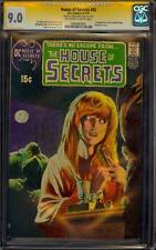 HOUSE OF SECRETS 92 CGC 9.0 SS BERNIE WRIGHTSON 1ST APP SWAMP THING MOVIE SOON