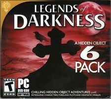 Legends Of Darkness Hidden Object (PC 2013) Game 6 Pack New in WORN SLIPCOVER
