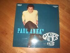 PAUL ANKA - PAUL ANKA'S GREATEST HITS ! 1st 1970 PRESS MADE IN GERMANY!