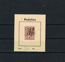Ukraine/Podolien MiNr. 33 * gefalzt Type I a signiert Sammlerverein Berlin