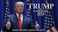 DONALD TRUMP 2016 REPUBLICAN PRESIDENTIAL CANDIDATE POSTER SIGN