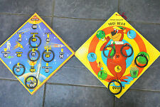 vintage Chad Valley Yogi Bear and Journey to Mars hoopla Games
