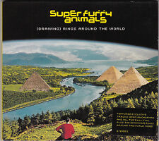 Super Furry Animals - (Drawing) Rings Around The World - CD (4 x Track)