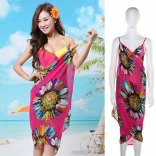 PINK Light weight chiffon Beach Wear Bikini Swim Suit Wear Cover up wrap Dress
