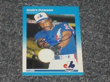 Andre Dawson Autographed Baseball Card  PSA Precertified