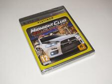Sony Playstation 3 / PS3 ~ Midnight Club Los Angeles Complete Ed. (Platinum)~NEW