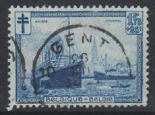 Belgium - 1929, 1f75 + 25c Blue Anti TB Fund - Used - SG 556