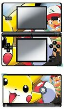 SKIN STICKER AUTOCOLLANT DECO POUR NINTENDO DS LITE REF 13 POKEMON