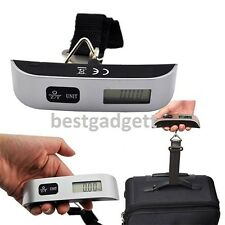 50kg Portable Hanging Electronic Digital Travel Luggage Suitcase Weighing Scales