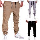 G.B.D. Chinohose Jogger Chino Hose Jogginghose Style Beige/Blau/Grau Jeans NEU