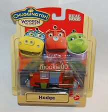 HODGE - WOODEN Train Engine - Chuggington Railway - Learning Curve - NIP - 2011