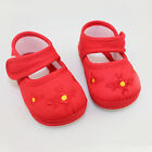 Lovely Baby Girl Infant Floral Toddler Shoes Canvas Crib Shoes Sneaker 3Size New